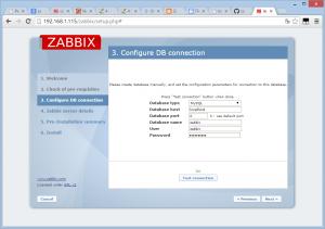 zabbix install 060