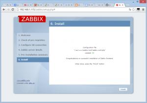 zabbix install 09