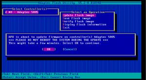 5805 firmware update 03