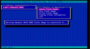 5805 firmware update 04