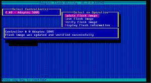 5805 firmware update 05