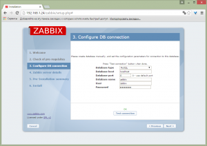 zabbix on debian 8 10