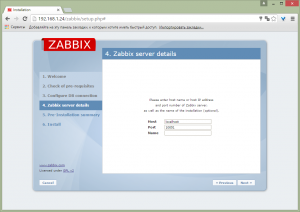 zabbix on debian 8 11