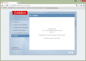 zabbix on debian 8 14