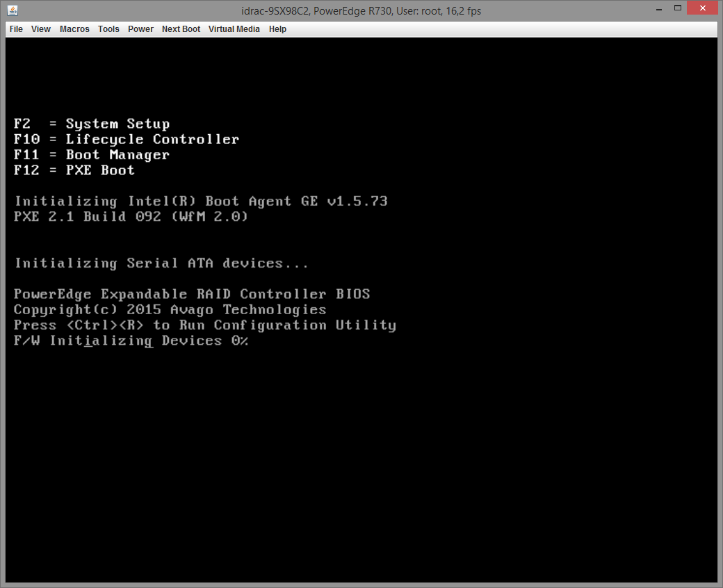 Dell PERC H730 configuring 001