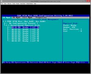 Dell PERC H730 configuring 002