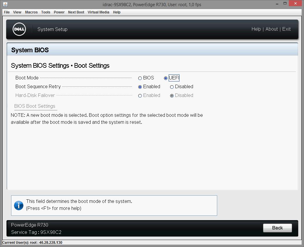 Dell PERC H730 configuring 01