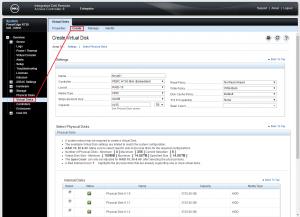 Dell PERC H730 configuring 20