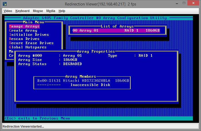 adaptec 6405 raid manage 08