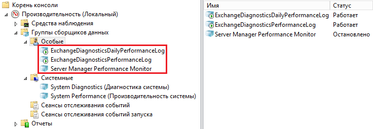 4999, 1007, 7031 Microsoft Exchange Diagnostics 07