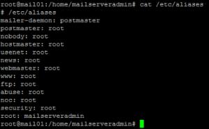 Установка Postfix на Debian 04