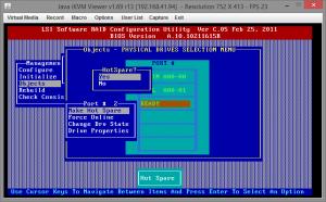 Замена диска RAID на Supermicro X9SCL-F 05