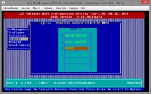 Замена диска RAID на Supermicro X9SCL-F 06