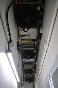 Миран 2 - вытяжки горячего коридора