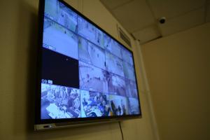 Дата-центр IMAQLIQ - видеонаблюдение на втором этаже