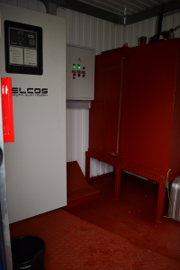 Дата-центр IMAQLIQ - дизель-генератор внутри