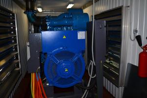 Дата-центр IMAQLIQ - генератор